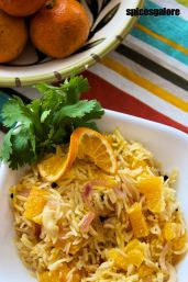 Orange Saffron Rice