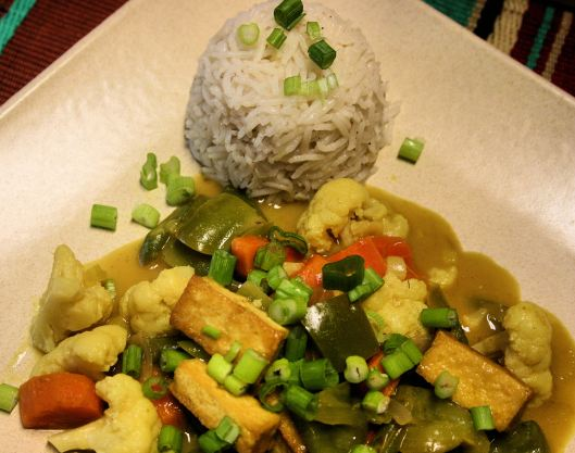 Malaysian Vegetable Curry with Tofu