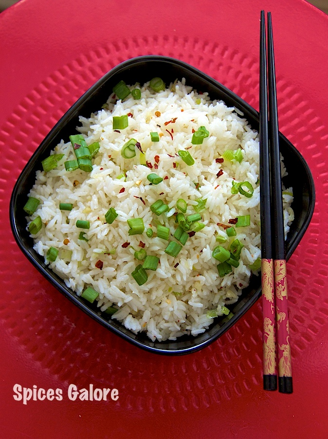 Spring Onion & Chilli Fried Rice