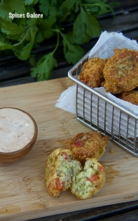 Guacamole Hush Puppies